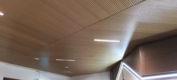 Topkustic ceiling panels